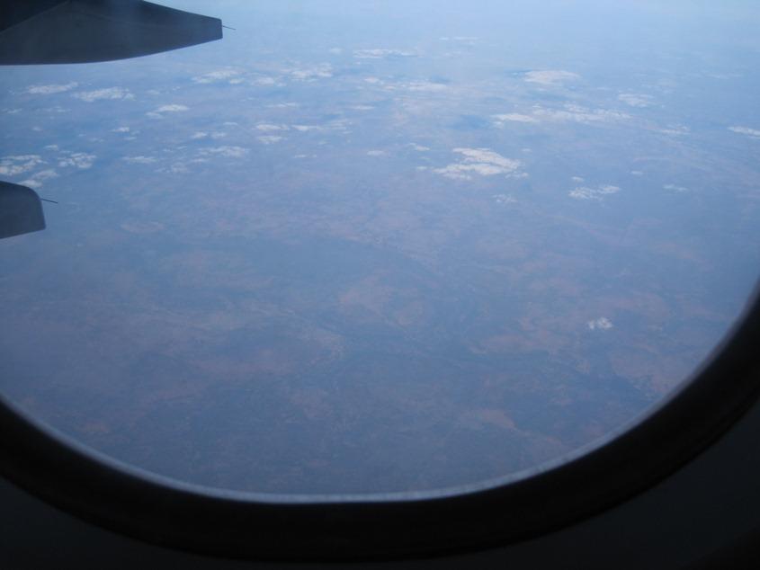 飞机上的澳大利亚