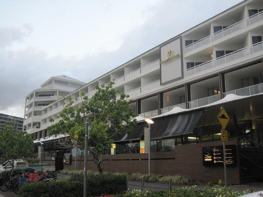 游艇码头边的香格里拉酒店