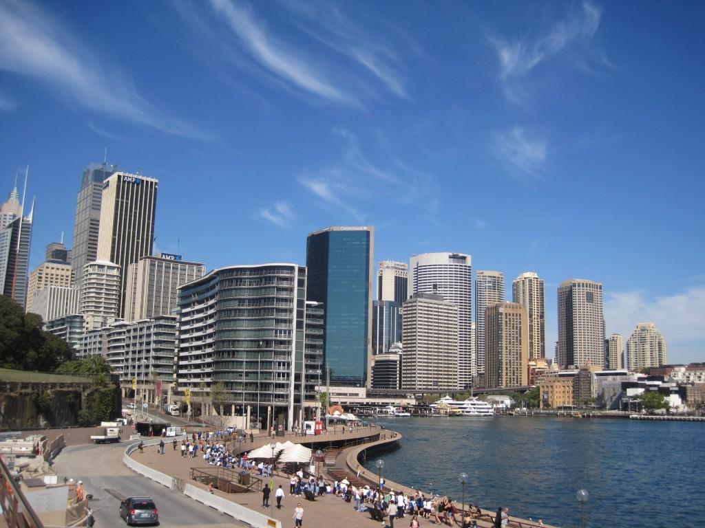 Sydney cove,游客如织